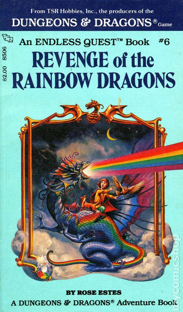 Endless Quest Book Pb 1982 1987 Tsr Dungeons And Dragons
