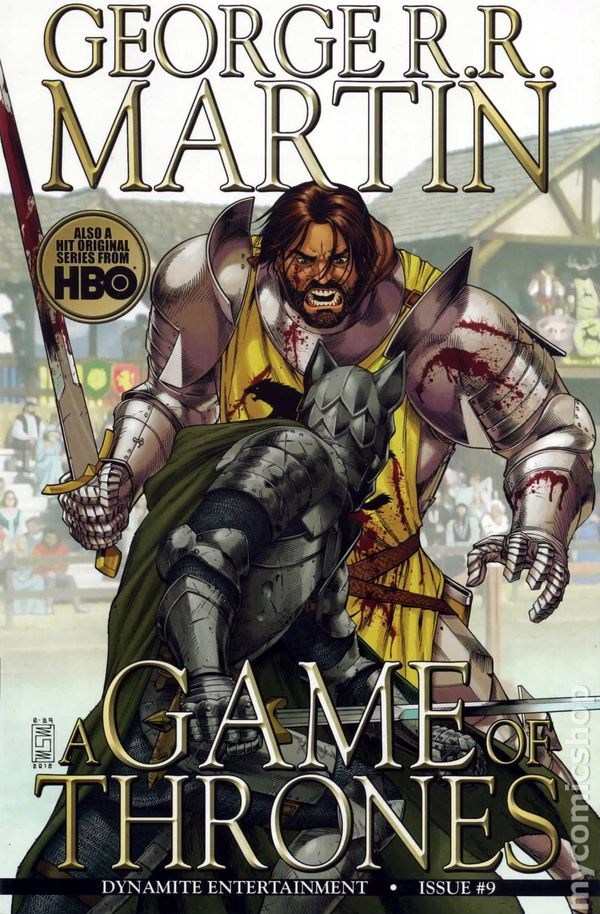Game Of Thrones 2011 Dynamite Comic Books