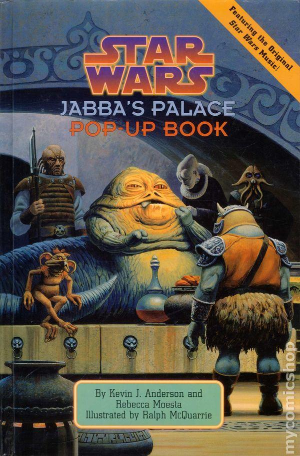 Star Wars Jabba's Palace Pop-Up Book HC (1996 LBC) comic books