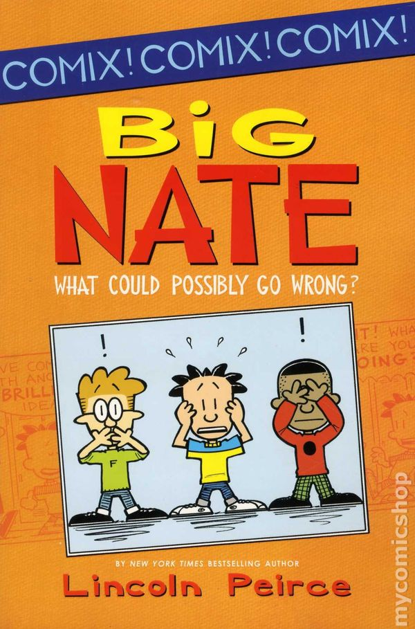 Big Nate What Could Possibly Go Wrong Tpb 2012