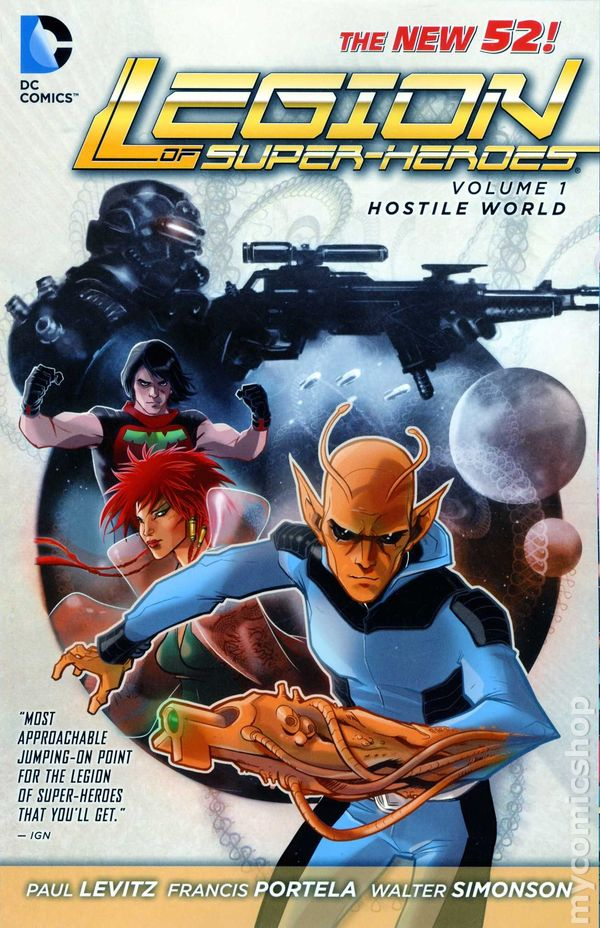 Legion Of Super Heroes Comic Issue 306 Bronze Age First: Legion Of Super-Heroes TPB (2012-2014 DC Comics The New 52
