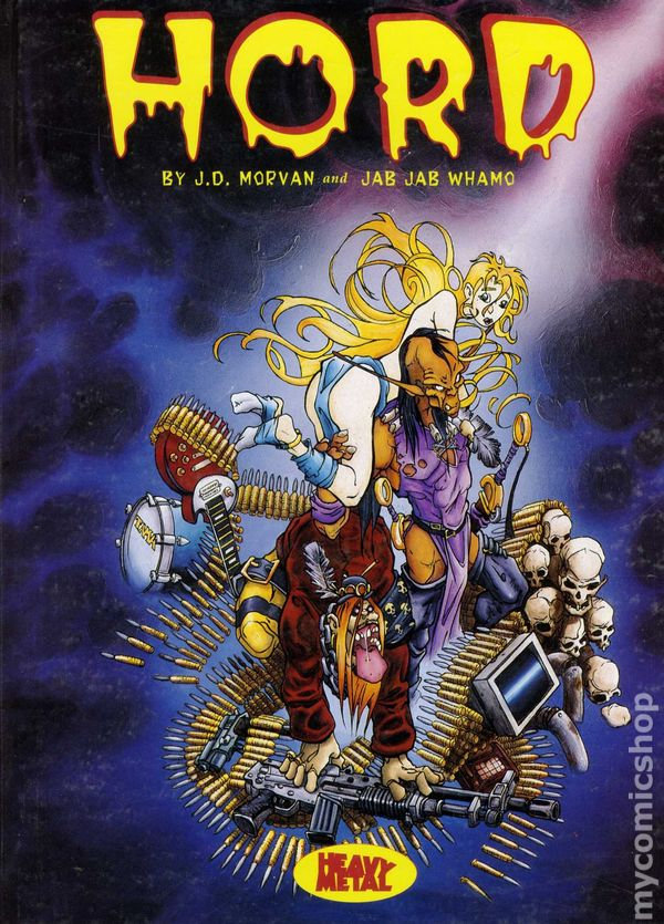 hord hc 1994 heavy metal comic books published august 1986 or later