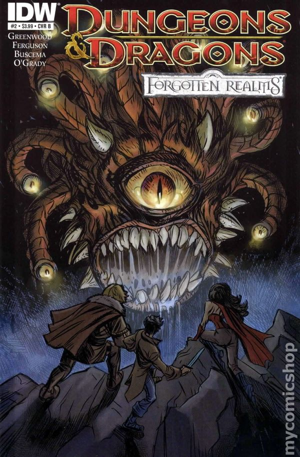 Dungeons and Dragons Forgotten Realms (2012 IDW) comic books