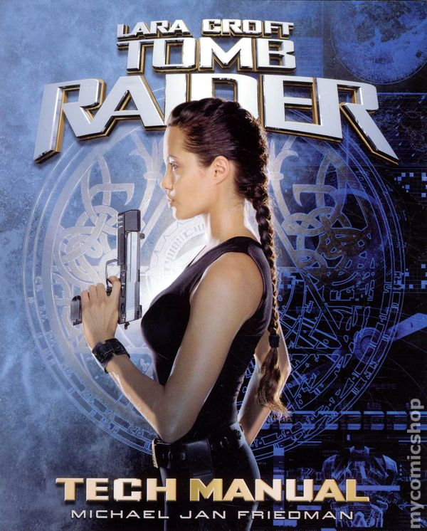 Lara Croft Tomb Raider Tech Manual Sc 2001 Pocket Books Comic Books