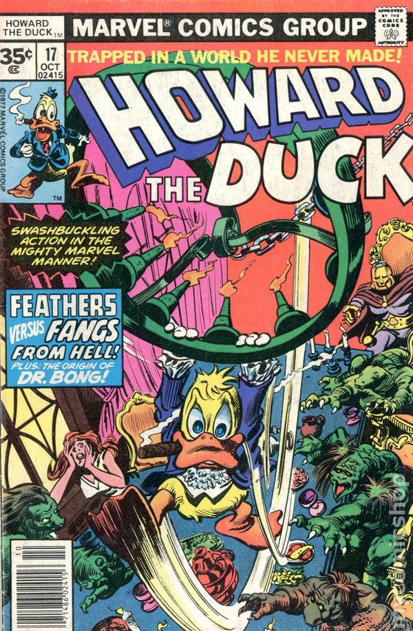 Howard The Duck 1976 1st Series 35 Cent Variant Comic Books