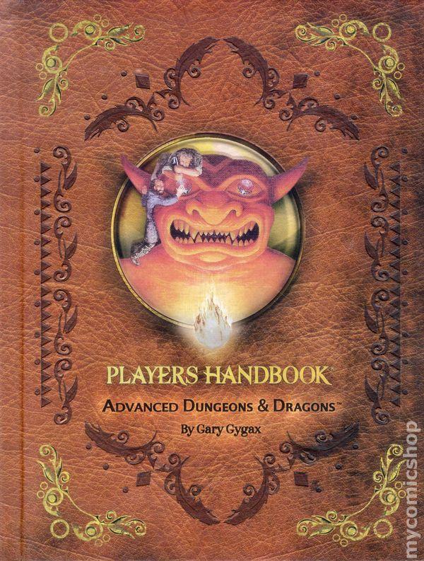 Advanced Dungeons and Dragons Players Handbook HC (2012