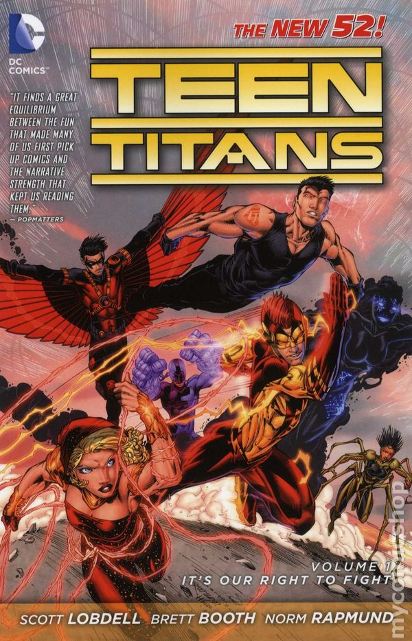 Teen titans dc comic thought differently