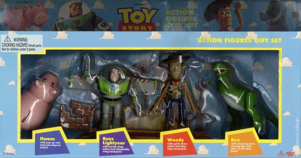 Toy Story Action Figures Set : Comic books in toy story collectible