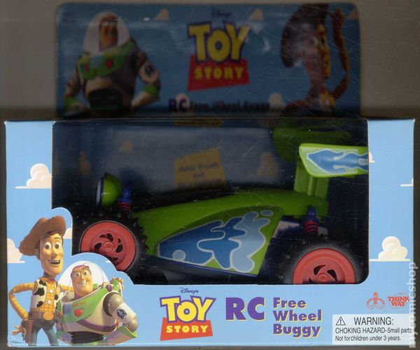 toy story rc free wheel buggy 1996 comic books