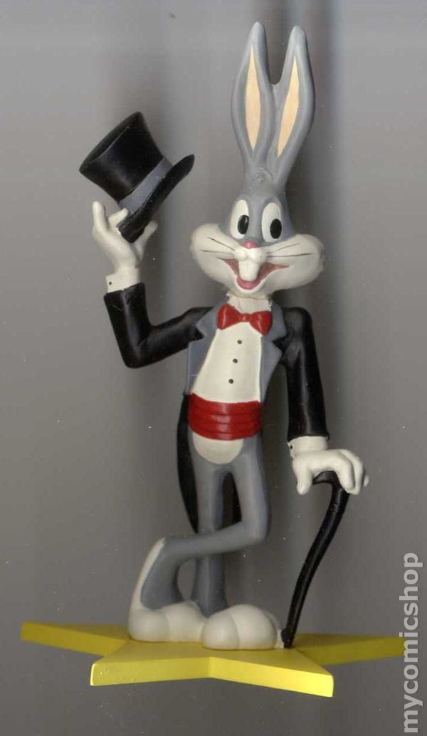 bugs bunny collector figurine 1989 applause 1940 1990 50th birthday collection comic books. Black Bedroom Furniture Sets. Home Design Ideas