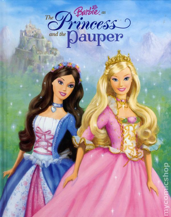 Barbie As The Princess And The Pauper Hc 2004 A Golden Princess And The Pauper