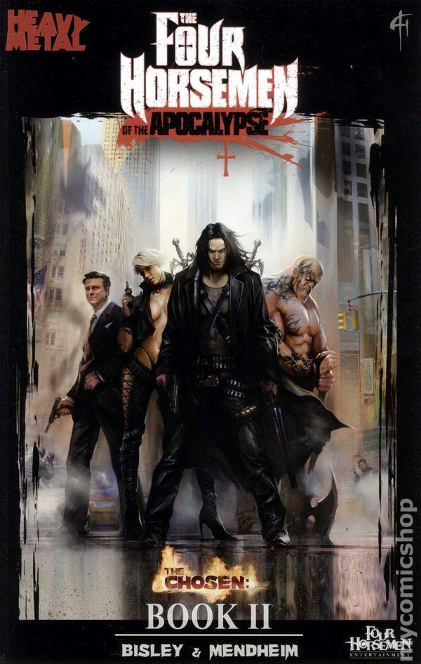 Four Horsemen of the Apocalypse GN (2011-2012 Heavy Metal) 2-1ST NM