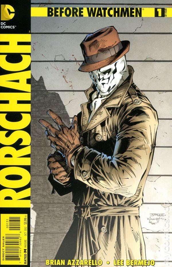 Rorschach #1 October 2012 VF//NM
