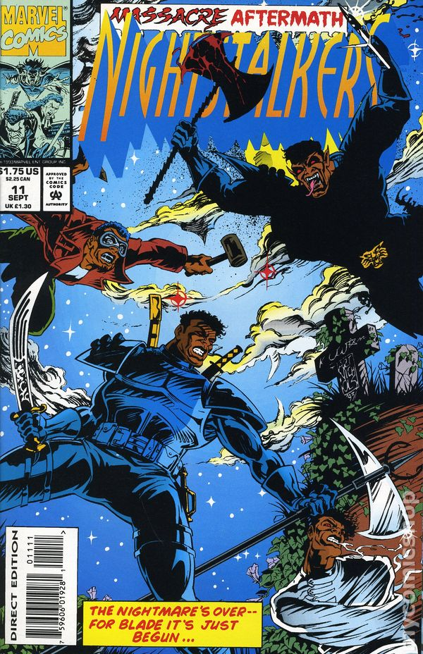 nightstalkers  1992  comic books