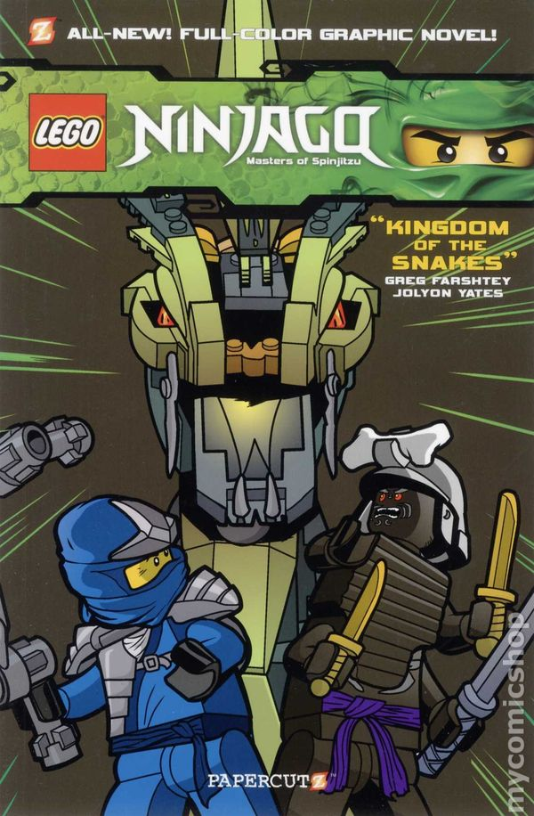 Comic Books In Lego Ninjago Masters Of Spinjitzu