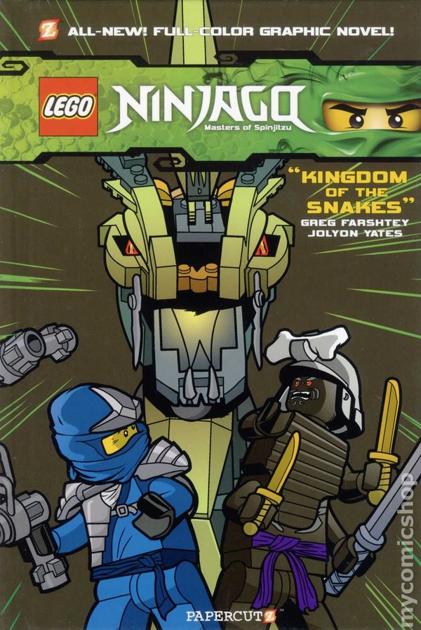 Comic Books In Lego Ninjago Masters Of Spinjitzu