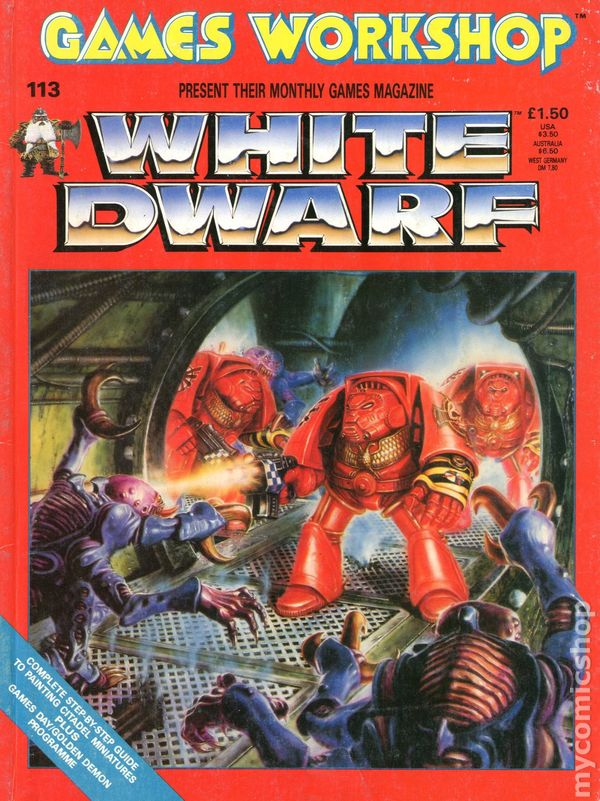 white dwarf back issues - photo #9