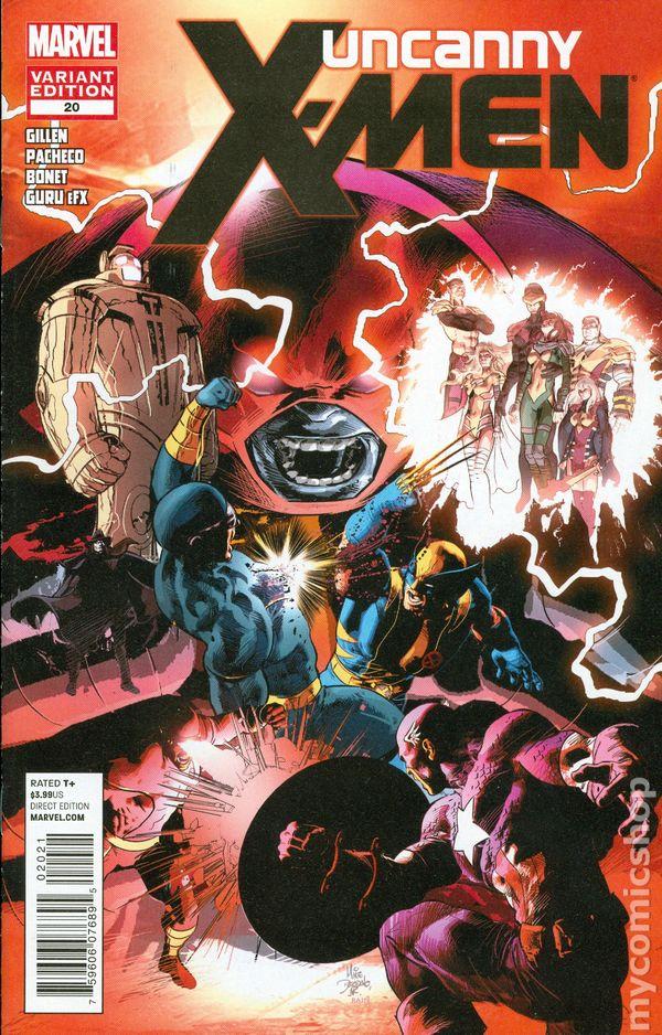 Uncanny X Men Comic Books Issue 20