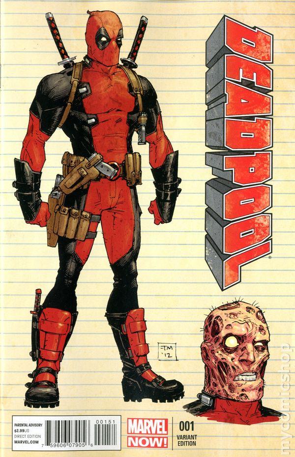 Deadpool 2012 3rd series comic books for Deadpool show