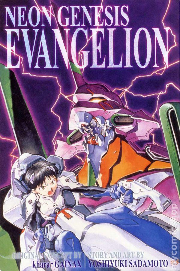 Neon Genesis Evangelion Serie Deutsch