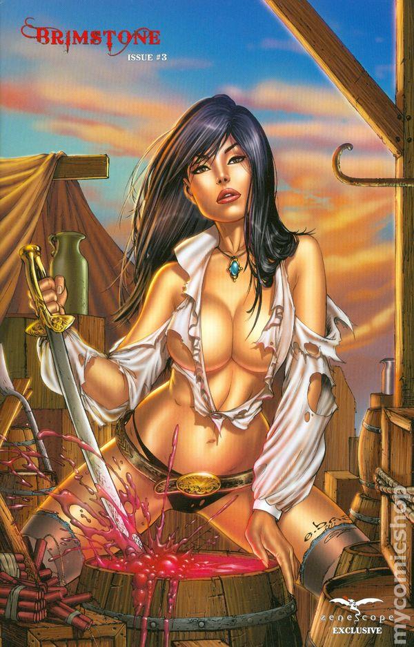 Brimstone (2011 Zenescope) comic books