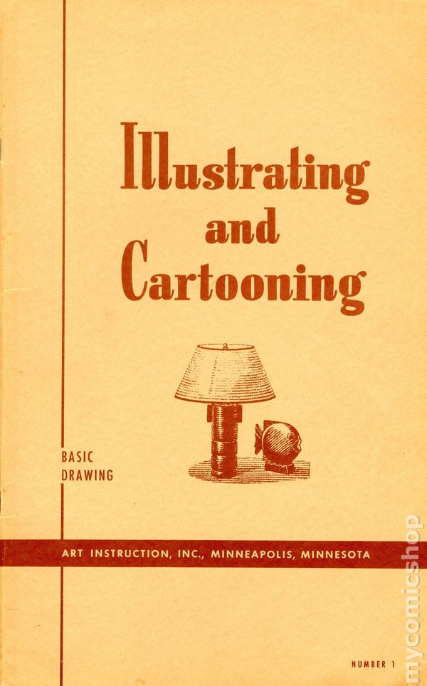 Illustrating And Cartooning Instruction Course Comic Books