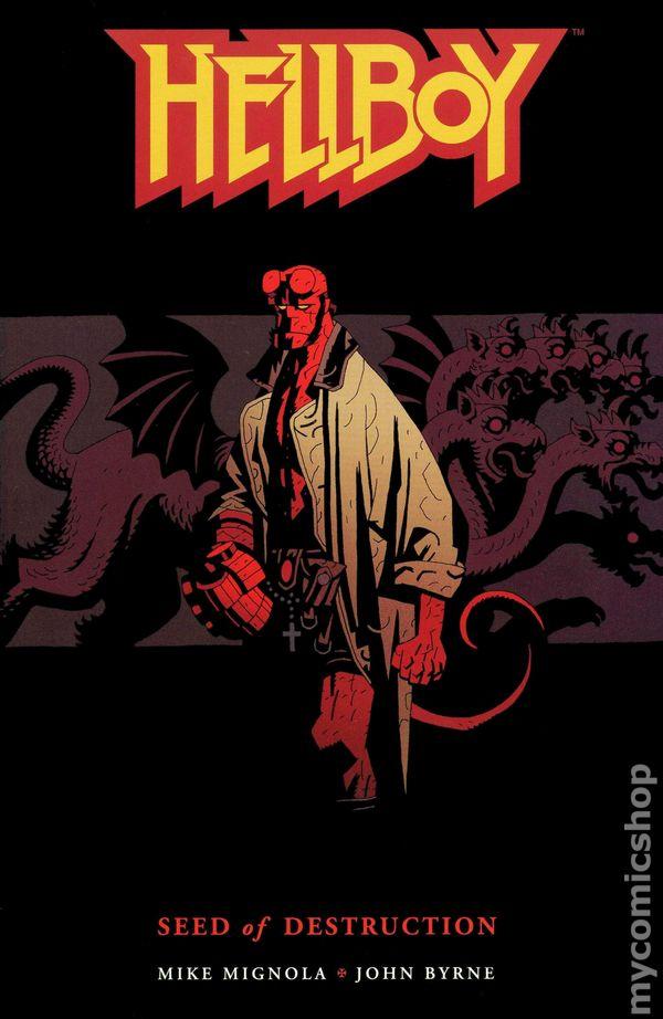 Hellboy Seed of Destruction #1 25th Anniversary Edition Dark Horse Comics