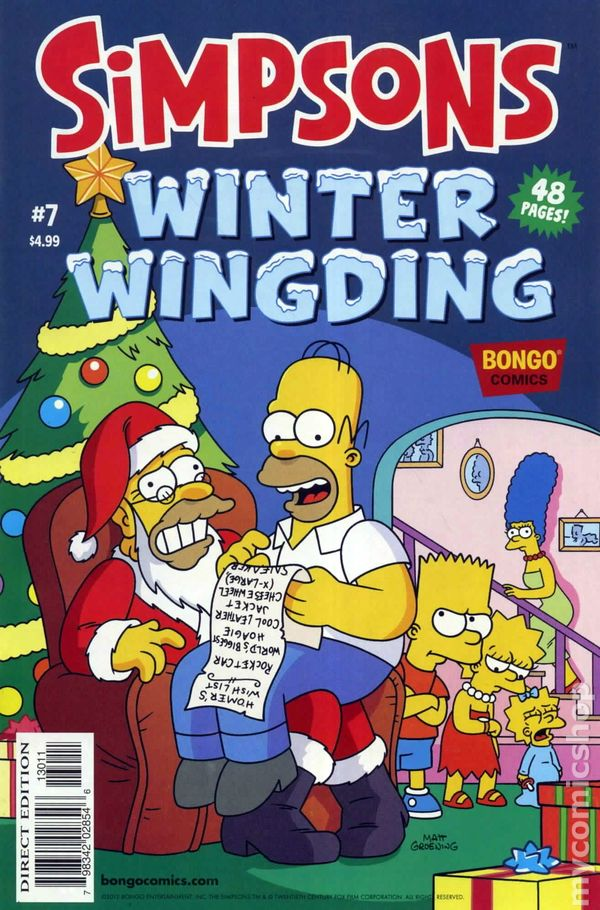 Simpsons Winter Wingding 2006 Comic Books