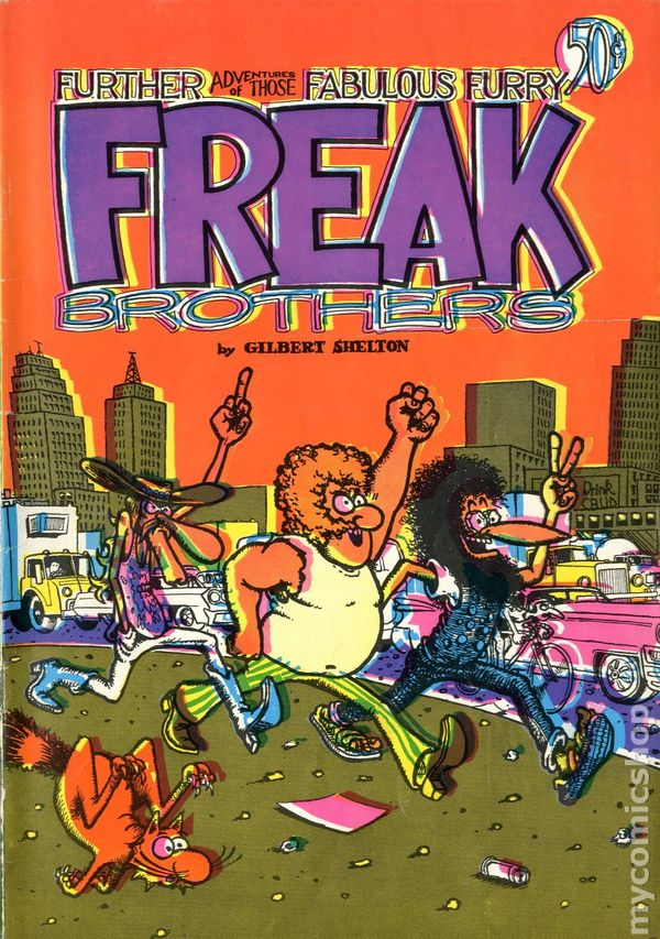 fabulous furry freak brothers comic books value