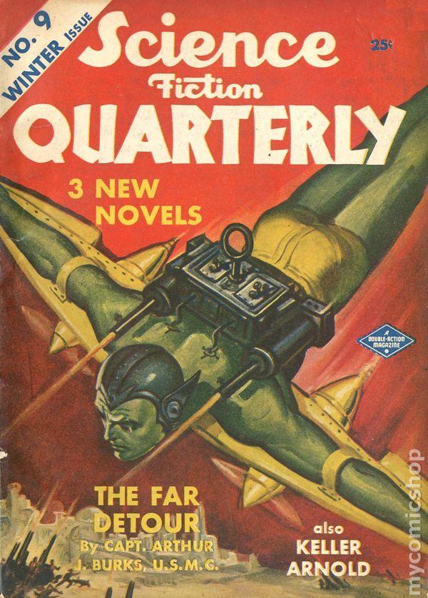 J. Keller Publications Science Fiction...