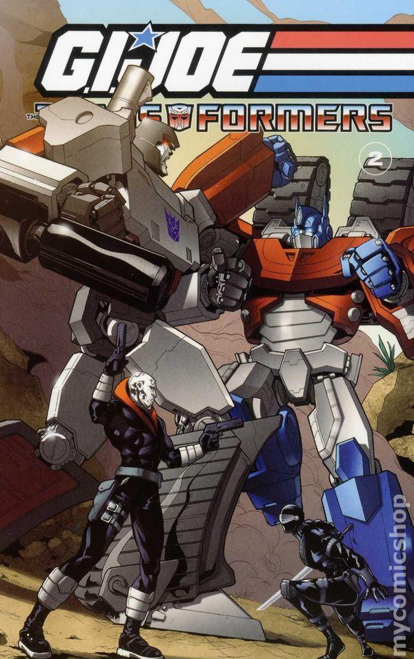 Gi Joe Transformers Tpb 2012 2013 Idw Comic Books