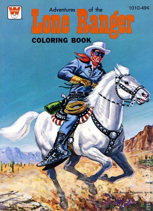 Lone Ranger Coloring Pages Lone Ranger Coloring Book sc