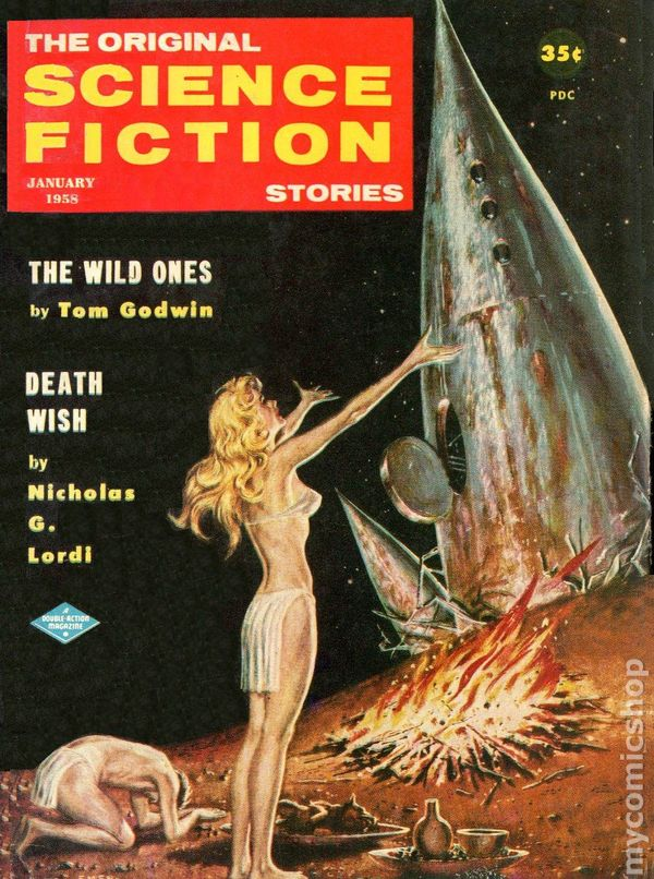 Science Fiction Stories (1955-1960 3rd Series Digest) comic books