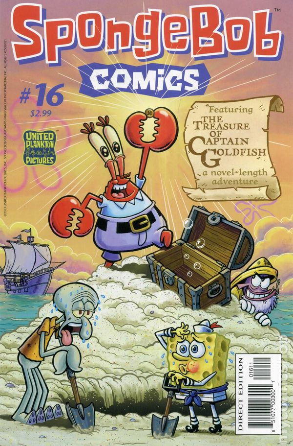 spongebob comics 2011 united plankton pictures comic books