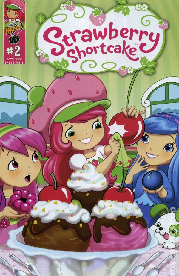 Comic STRAWBERRY SHORTCAKE #2 SUBSCRIPTION VARIANT IDW 2016 1st Print