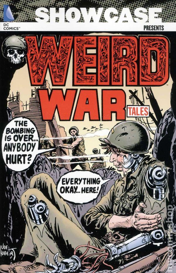 showcase presents weird war tales tpb 2013 dc comic books