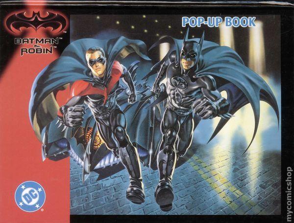 Batman And Robin Pop Up Book HC 1997 Landolls 1 1ST