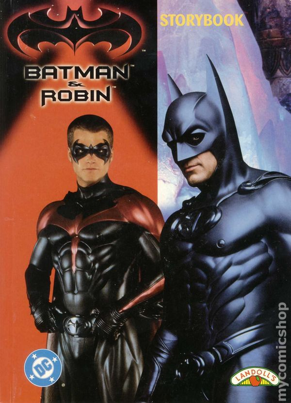 Batman and Robin Storybook HC (1997 Landoll's) comic books
