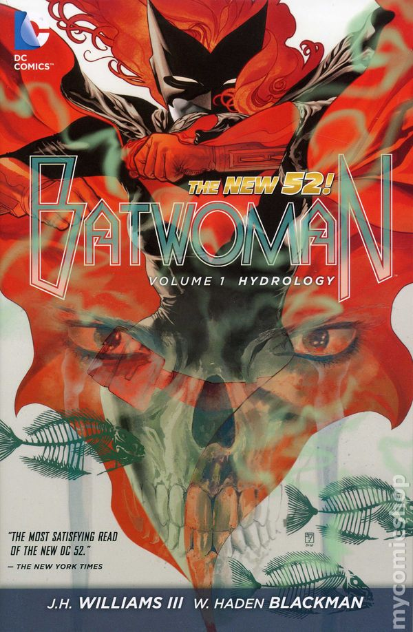 Batwoman New 52 Issue 1 Comics The New 52 1-rep