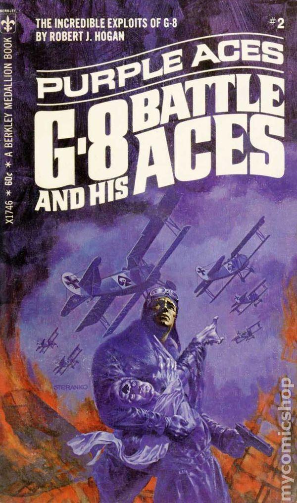 Purple Aces (G-8 and His Battle Aces, #2) (Berkley