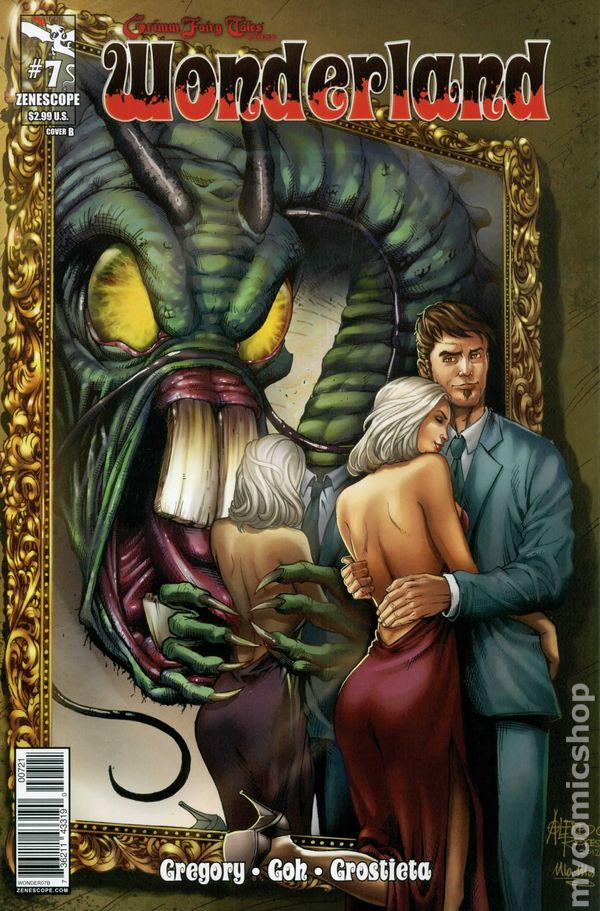 or better NM Grimm Fairy Tales Presents Wonderland 7 Cover A