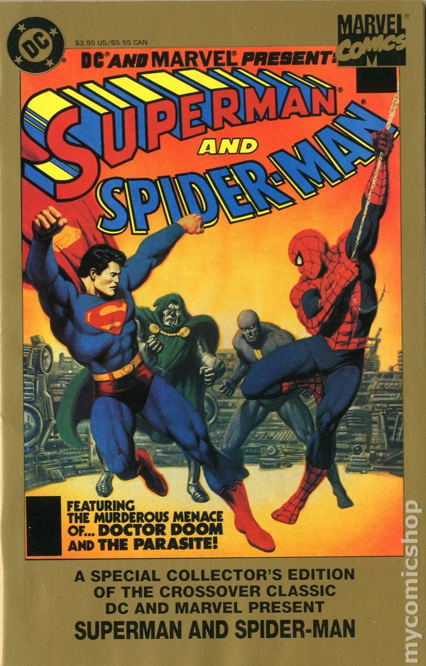 Superman and Spider-Man (1996) comic books  Superman and Sp...