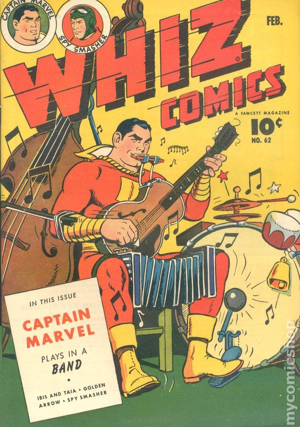 Resultado de imagen para ain marvel whiz comics
