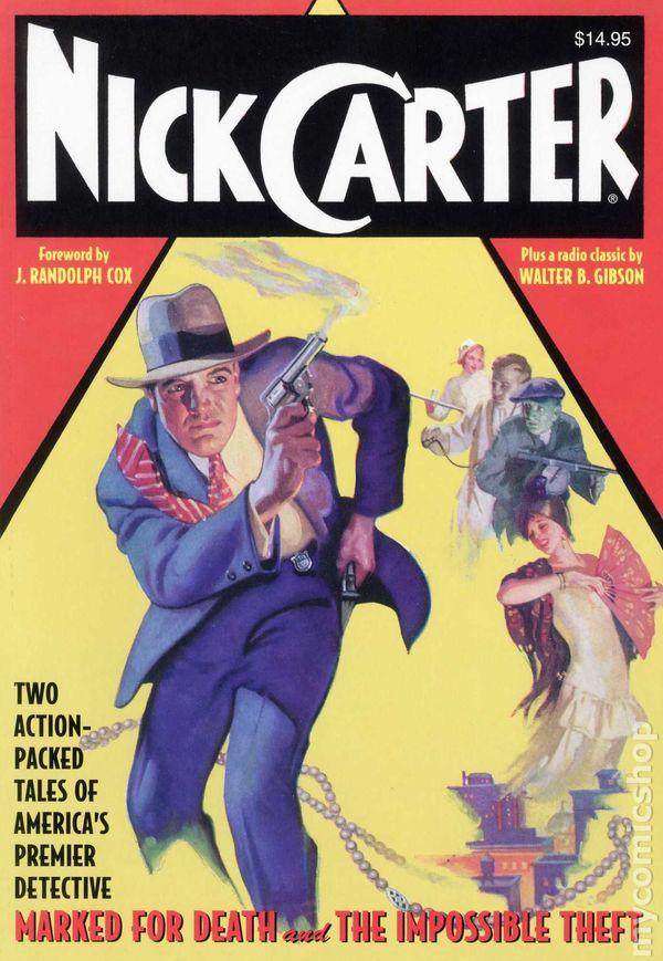 Resultado de imagen de Nick Carter comic