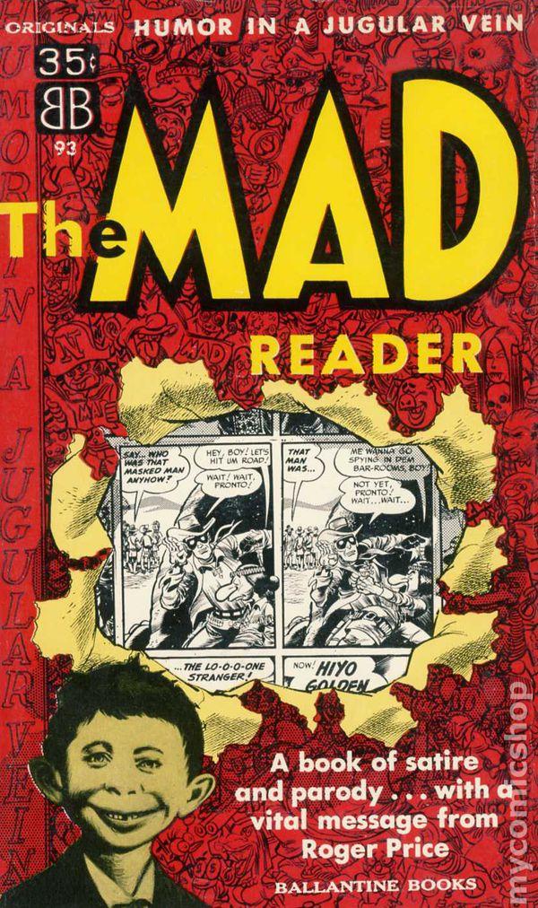 MAD Reader PB (1954 Ballantine Books) comic books