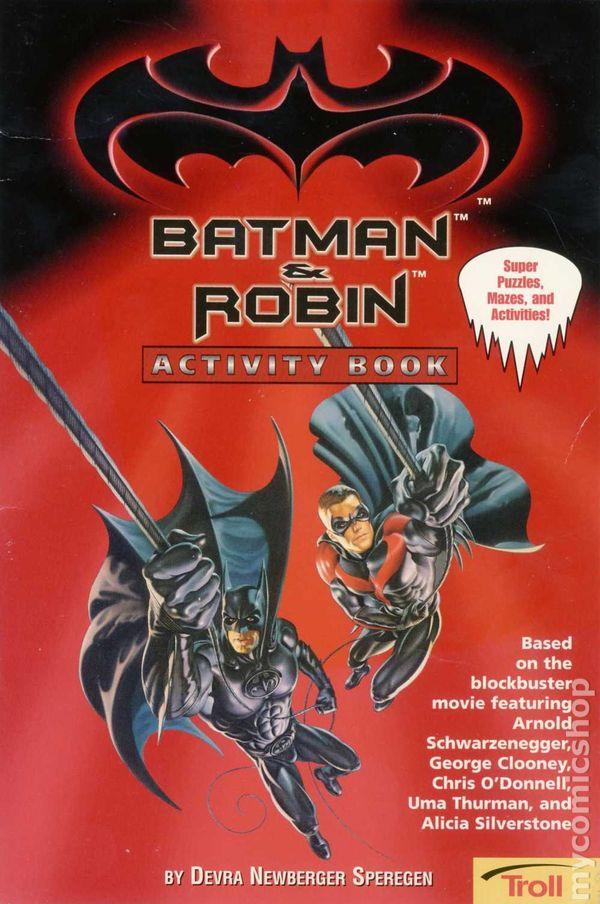 Batman And Robin Activity Book SC 1997 Troll 1 1ST