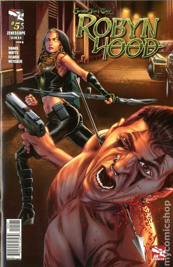 Zenescope 2012 GRIMM FAIRY TALES PRESENTS ROBYN HOOD #3B CAFARO Cover NM New!