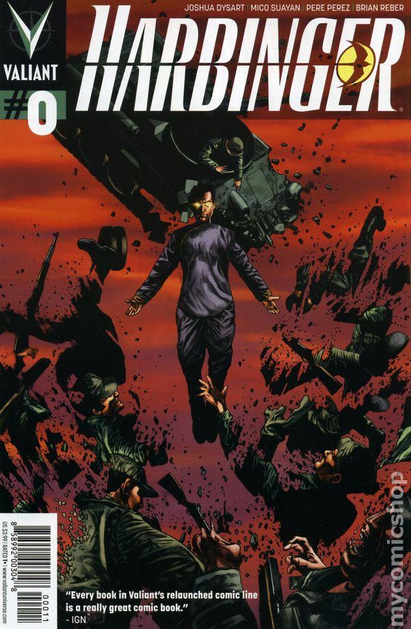 Harbinger 2012 Valiant 0A Comic books in