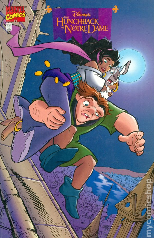 Hunchback Of Notre Dame 1996 Comic Books