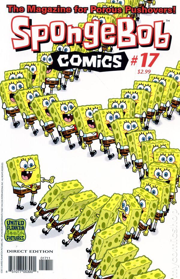 Spongebob Comics 2011 United Plankton Pictures ic books